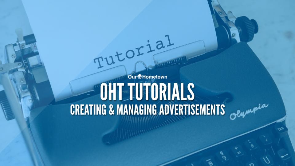 OHT Tutorials: Advertisement Training